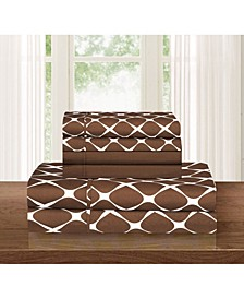 Bloomingdale 4-Piece Wrinkle Free Sheet Set Twin/Twin XL