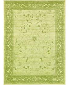Aldrose Ald4 Light Green 8' x 11' Area Rug