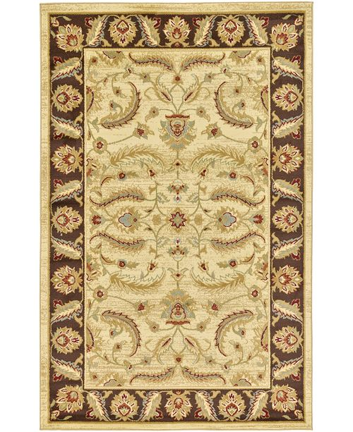 Bridgeport Home Passage Psg1 Ivory 5' x 8' Area Rug