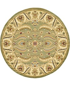 Passage Psg1 Green 8' x 8' Round Area Rug