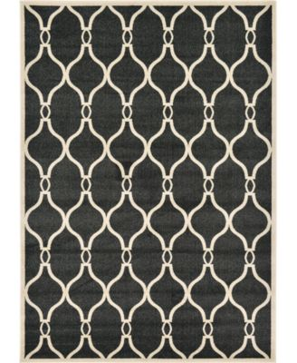 Arbor Arb6 Black 7' x 10' Area Rug