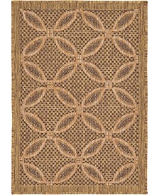 "Bridgeport Home Pashio Pas6 Light Brown 2' 2"" x 3' Area Rug"