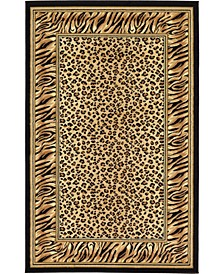 Maasai Mss9 Light Brown 5' x 8' Area Rug