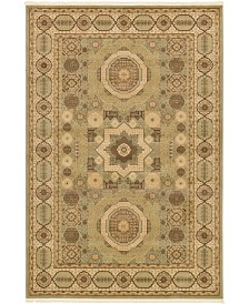 Bridgeport Home Wilder Wld2 Light Green 6' x 9' Area Rug