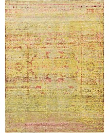 Bridgeport Home Malin Mal8 Yellow 7' x 10' Area Rug