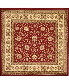 Passage Psg4 Red 8' x 8' Square Area Rug