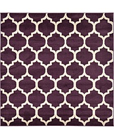 Arbor Arb1 Purple 6' x 6' Square Area Rug