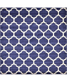 Arbor Arb1 Dark Blue 8' x 8' Square Area Rug