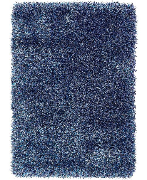 "Bridgeport Home Jiya Jiy1 Navy Blue 2' 2"" x 3' Area Rug"