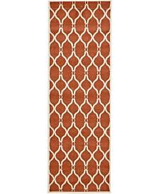 "Bridgeport Home Arbor Arb6 Terracotta 2' 7"" x 8' Runner Area Rug"