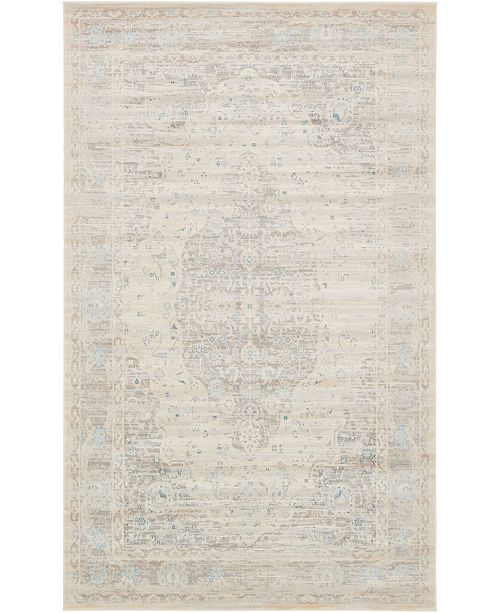 Bridgeport Home Caan Can2 Taupe 5' x 8' Area Rug