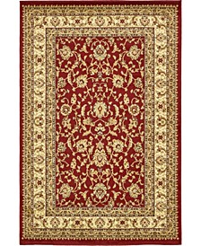 Passage Psg4 Red 4' x 6' Area Rug