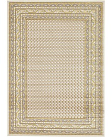 Bridgeport Home Axbridge Axb1 Beige 7' x 10' Area Rug