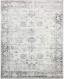 Basha Bas1 Gray 8' x 10' Area Rug