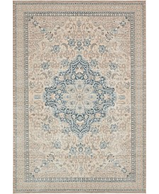 Bridgeport Home Caan Can1 Beige 7' x 10' Area Rug