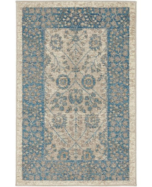 Bridgeport Home Bellmere Bel3 Ivory 2' x 3' Area Rug