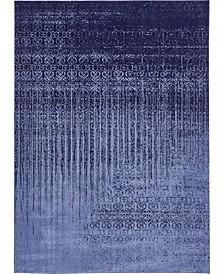 Lyon Lyo2 Blue 8' x 11' Area Rug