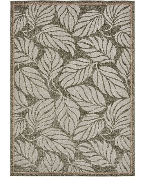 Bridgeport Home Pashio Pas2 Gray 7' x 10' Area Rug