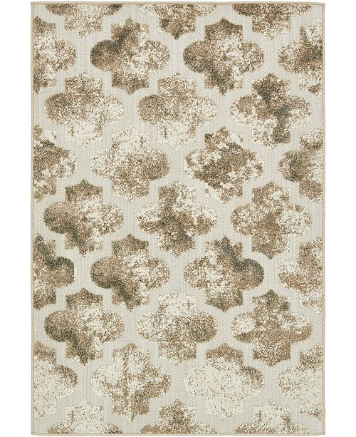 Bridgeport Home Pashio Pas2 Ivory 4' x 6' Area Rug