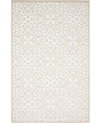 Marshall Mar5 Snow White 5' x 8' Area Rug
