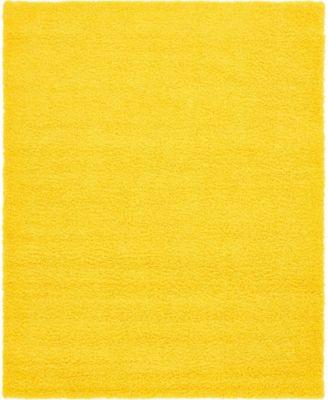Exact Shag Exs1 Tuscan Sun Yellow 12' x 15' Area Rug