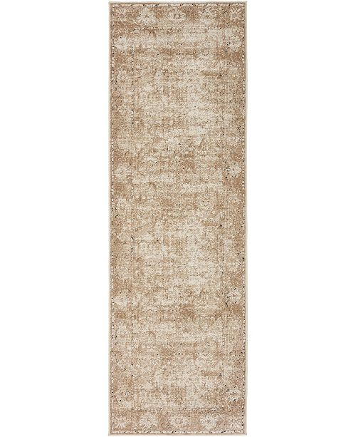 "Bridgeport Home Odette Ode4 Beige 2' 2"" x 6' 7"" Runner Area Rug"