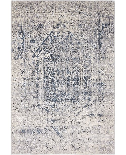 Bridgeport Home Odette Ode1 Gray 4' x 6' Area Rug