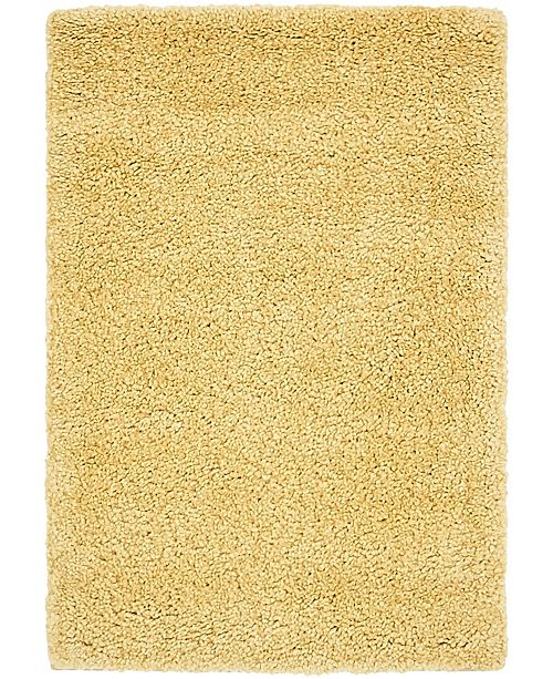 "Bridgeport Home Uno Uno1 Yellow 2' 2"" x 3' Area Rug"