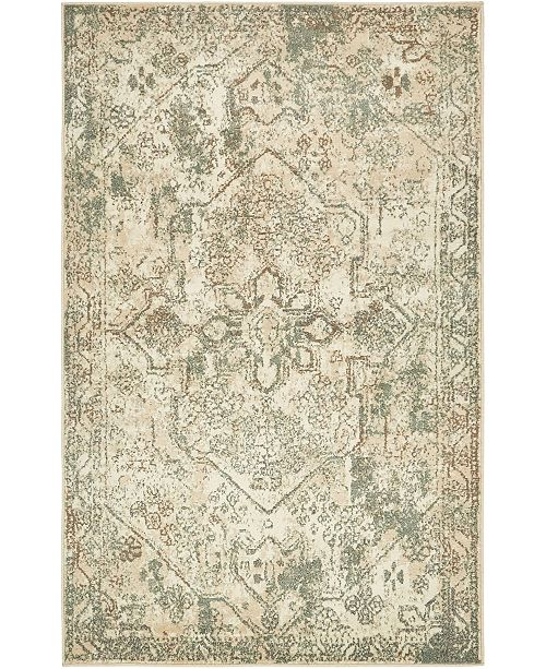 Bridgeport Home Tabert Tab6 Ivory 5' x 8' Area Rug