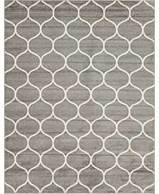 Plexity Plx2 Light Gray 8' x 10' Area Rug