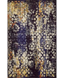 "Bridgeport Home Brio Bri1 Navy Blue 10' 6"" x 16' 5"" Area Rug"