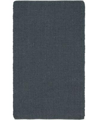 Prisma Jute Prs1 Dark Gray 5' x 8' Area Rug