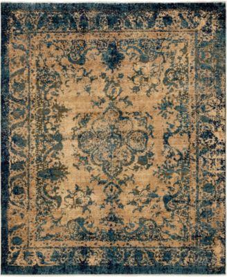 Thule Thu3 Blue 8' x 10' Area Rug