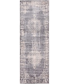 "Anika Ani1 Gray 2' 2"" x 6' Runner Area Rug"