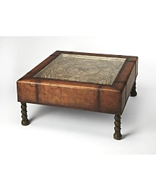 Butler Vasco Clock Coffee Table