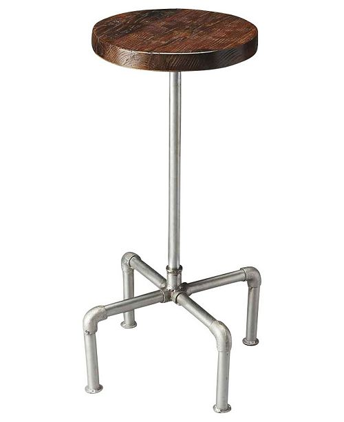 Butler Specialty CLOSEOUT! Butler Piper Wood and Metal Bar Stool
