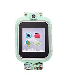PlayZoom Kids Smartwatch with Mint Cat Printed Strap