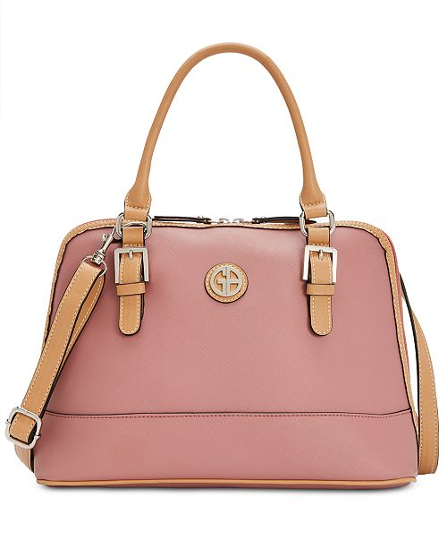Giani Bernini Saffiano Dome Satchel