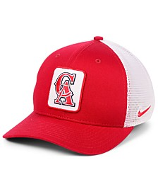 Nike Los Angeles Angels Trucker Swooshflex Stretch Fitted Cap