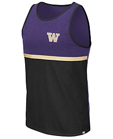 Colosseum Men's Washington Huskies Color Blocked Tank