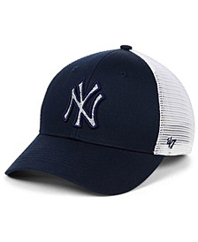 Women's New York Yankees Branson Glitta Trucker Strapback Cap