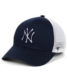 '47 Brand Women's New York Yankees Branson Glitta Trucker Strapback Cap