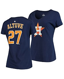Majestic Women's Jose Altuve Houston Astros Player T-Shirt