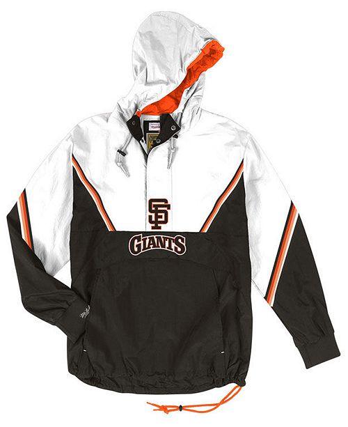 online retailer d619d 02f6d Men's San Francisco Giants Anorak Half-Zip Pullover