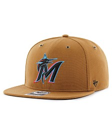'47 Brand Miami Marlins Carhartt CAPTAIN Cap