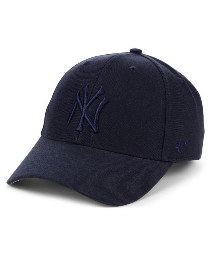 '47 Brand New York Yankees Tonal MVP Adjustable Cap & Reviews - Sports Fan Shop By Lids - Men - Macy's