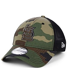 New Era St. Louis Cardinals Camo Trucker 39THIRTY Cap