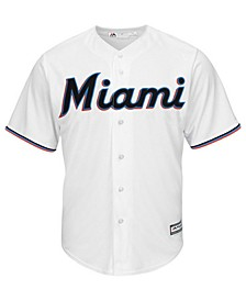 Little Boys Miami Marlins Blank Replica Cool Base Jersey