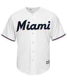 Majestic Little Boys Miami Marlins Blank Replica Cool Base Jersey