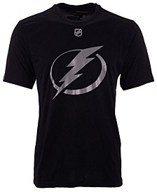 Men's Brayden Point Tampa Bay Lightning Synthetic Stack Name and Number T-Shirt